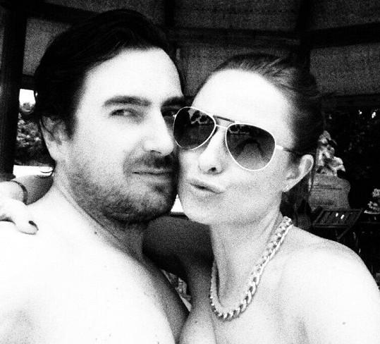 Romana s manželem Milanem.