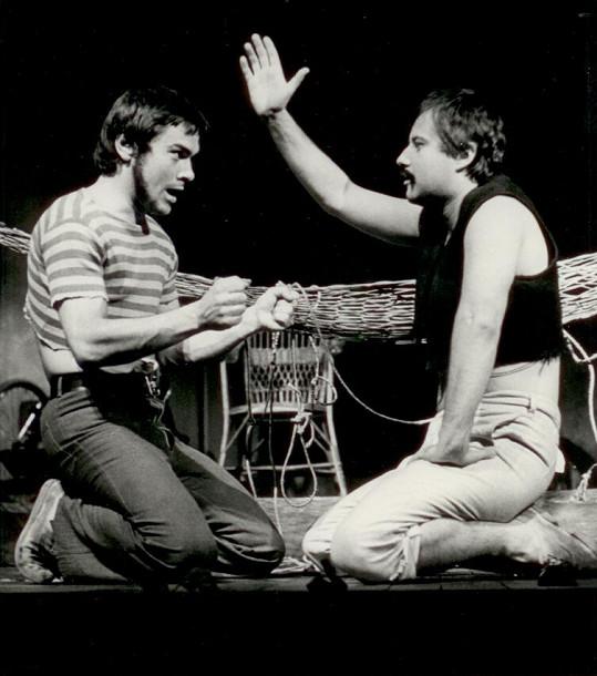 S Ladislavem Potměšilem na prknech Realistického divadla
