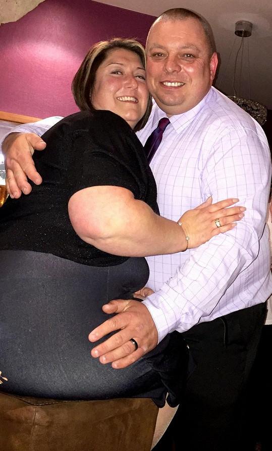 Donna a William v jejich tučném období
