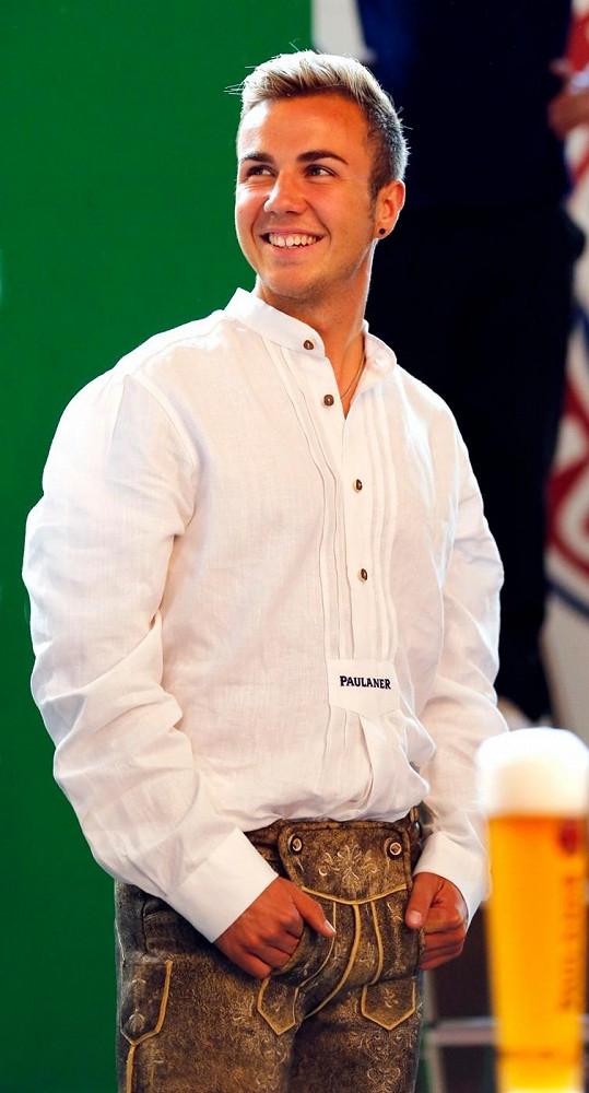 Mario Götze je hvězdou Bayernu Mnichov a zasáhl srdce řady fanynek.