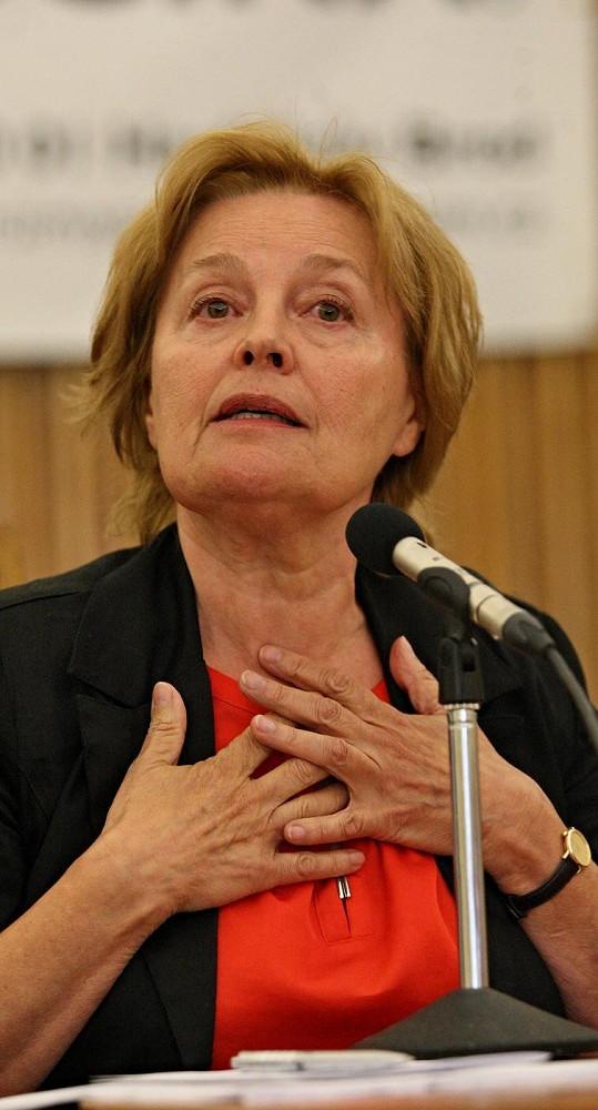 Magda Vášáryová má mladým lidem pořád co říct.