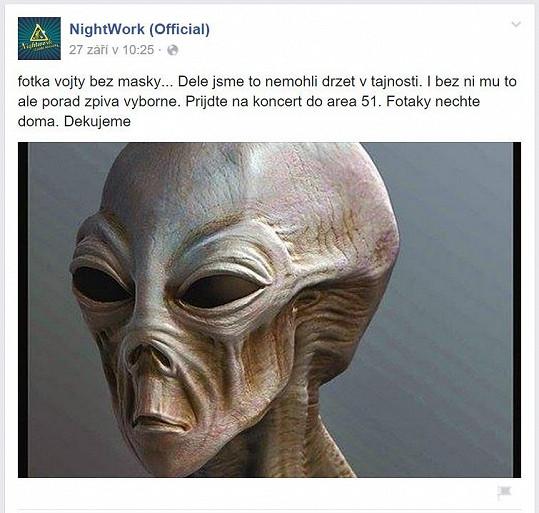Vojta Dyk je prý mimozemšťan.