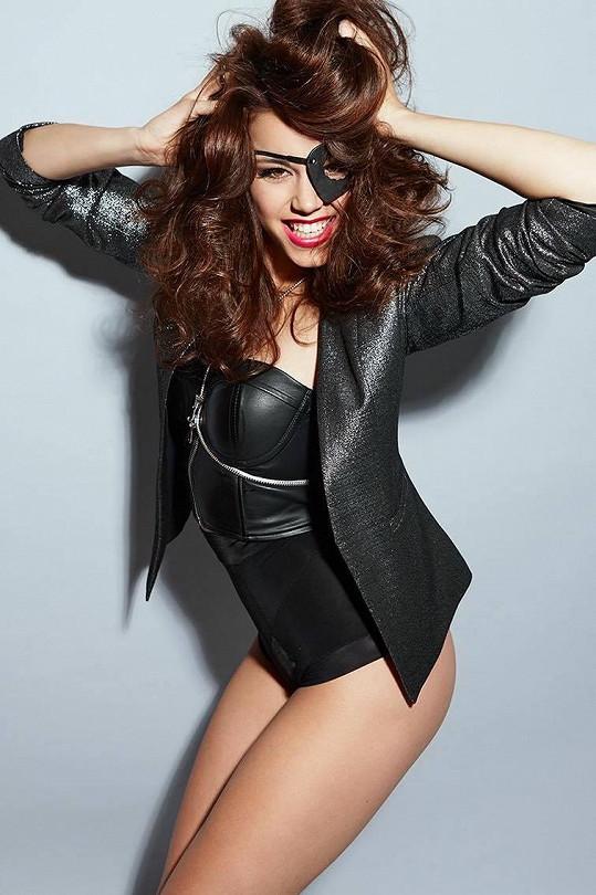 Karolína nafotila sérii sexy snímků.