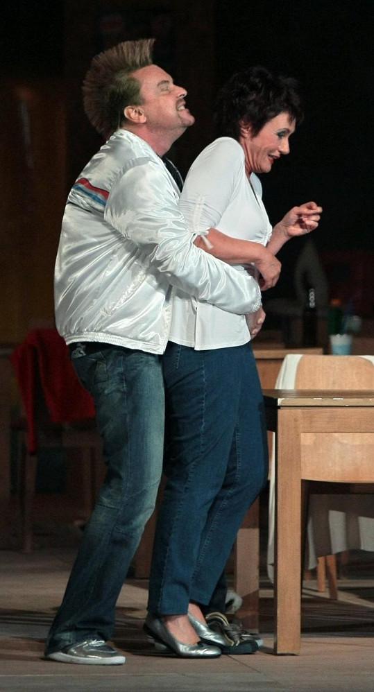 Štefan Margita byl v operním představení k nepoznání.