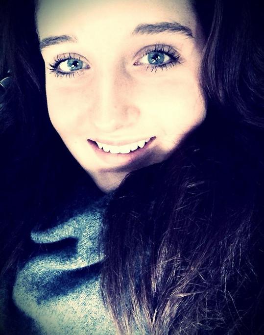 Jessica Šlégrová je krásná dívka.
