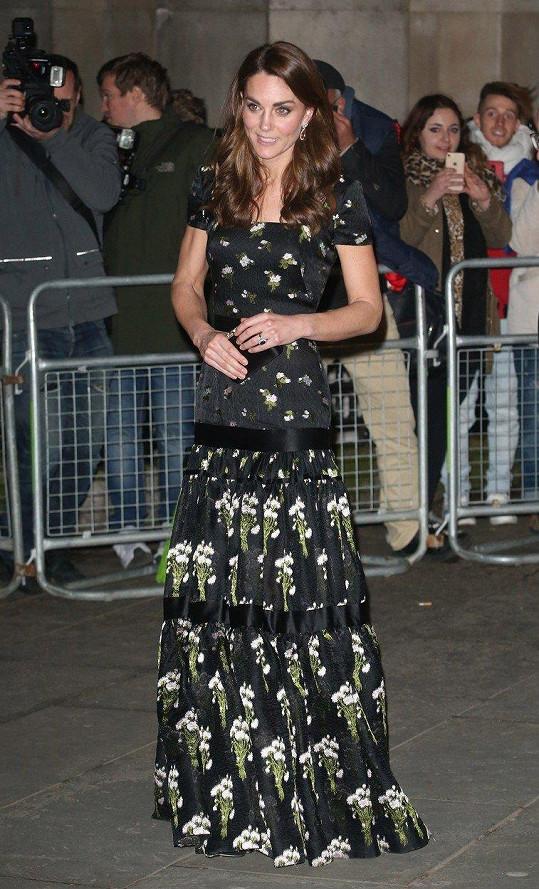Kate se mezi fanoušky těší mimořádné oblibě. Milovali by ji, i kdyby nosila pytel.