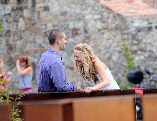 Lucku umí manžel Tomáš Plekanec rozesmát.