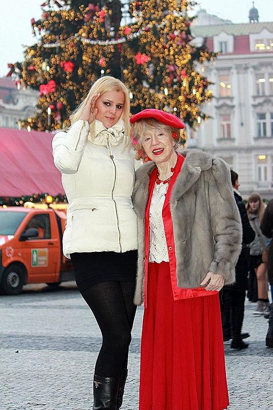 S Inkou na trzích na pražském Staroměstském náměstí