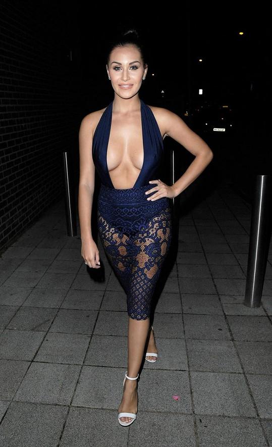 Chloe Goodman zvolila hodně odvážný model.
