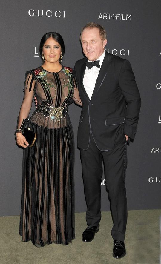 Salma s manželem