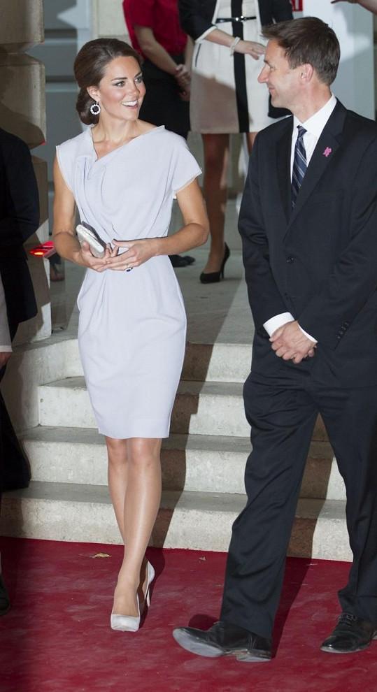 Vévodkyně z Cambridge Catherine.