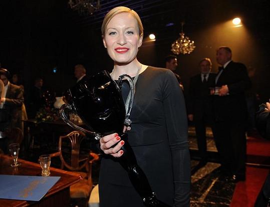 Helena Dvořáková dostala cenu Thálie za činohru.