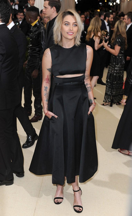 Paris Jackson na Met Gala v New Yorku