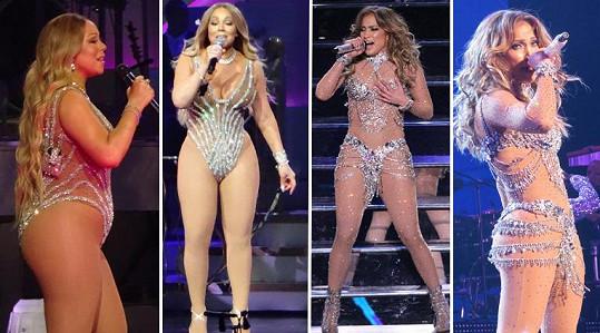 Mariah versus Jennifer