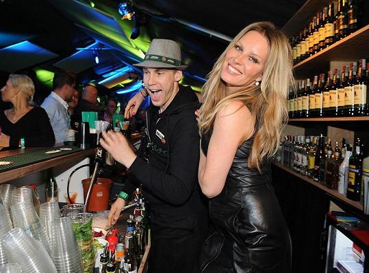 Simona a její alkoholový mejdan.