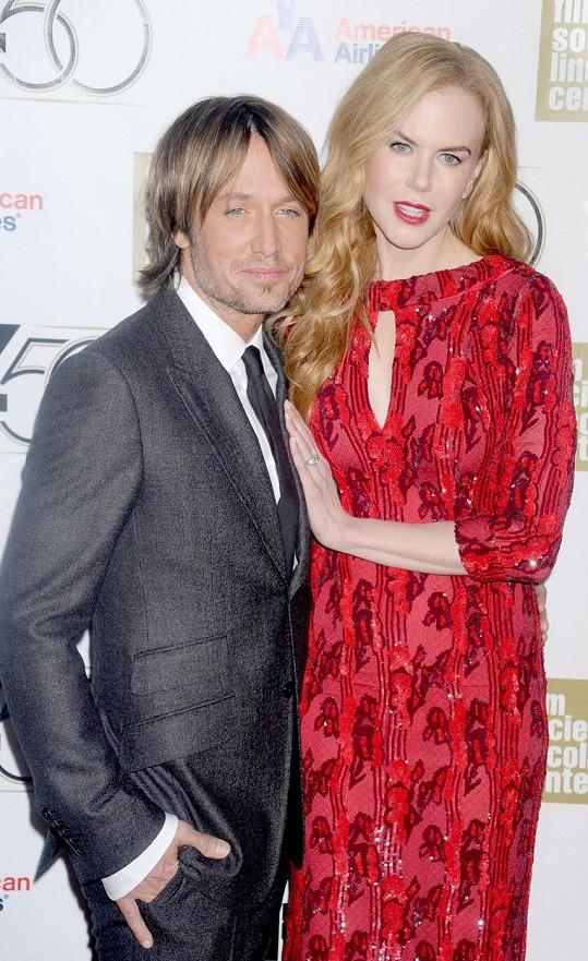 Keith Urban s manželkou Nicole Kidman