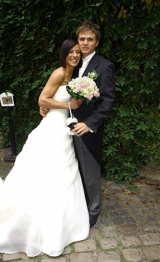 Ondřej Brzobohatý se roku 2008 oženil s produkční Johanou.