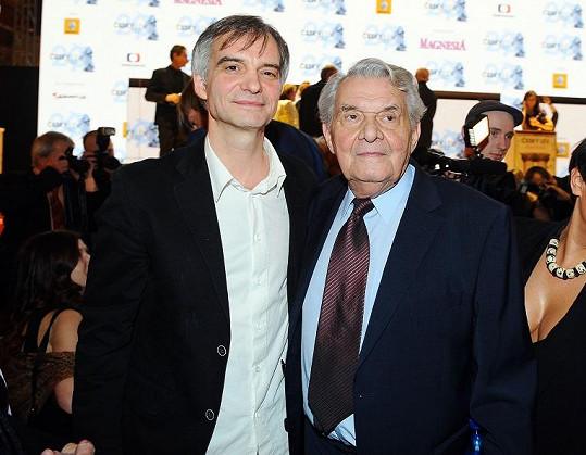 Ivan s tatínkem.