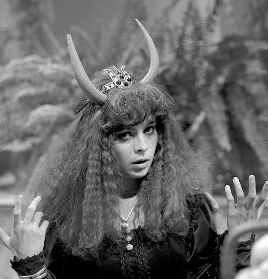 Libuška Šafránková v pohádce Vojáček a dračí princezna (1982)