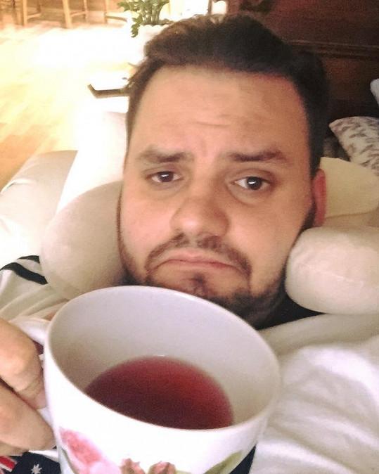 Ezy skončil s antibiotiky.