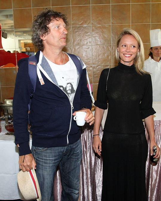 Linda s partnerem Davidem Prachařem