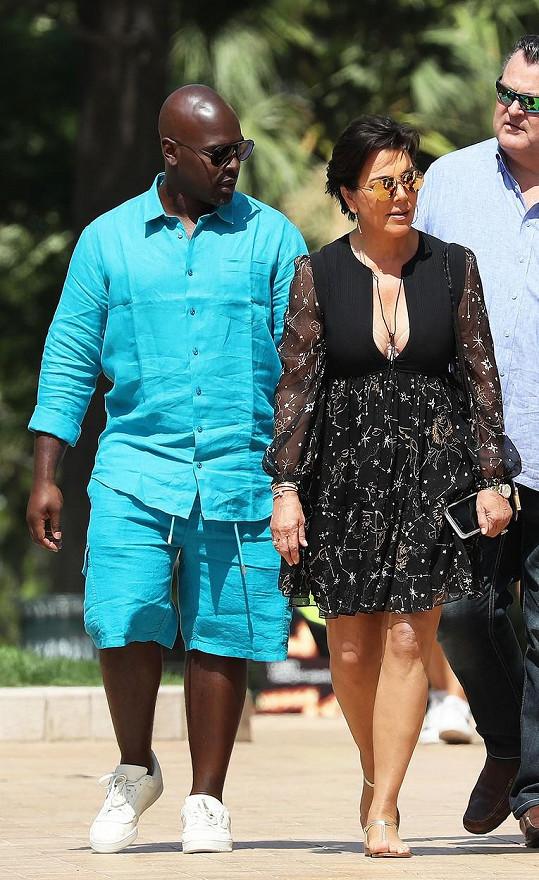 Kris Jenner se svým přítelem