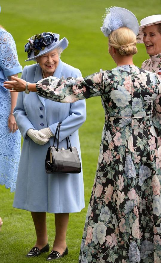 Zara je vnučkou královny Alžběty II.