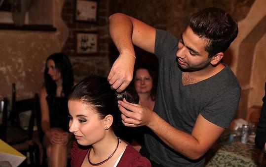 Vašek je úspěšným kadeřníkem.