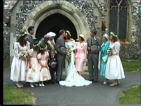 Radostné chvíle si novomanželé Gary Goldsmith s Marandou Foote neužívali dlouho, o rok a půl později šli od sebe.