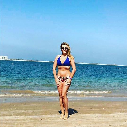Markéta Muzikářová na dovolené v Dubaji ukázala své křivky.