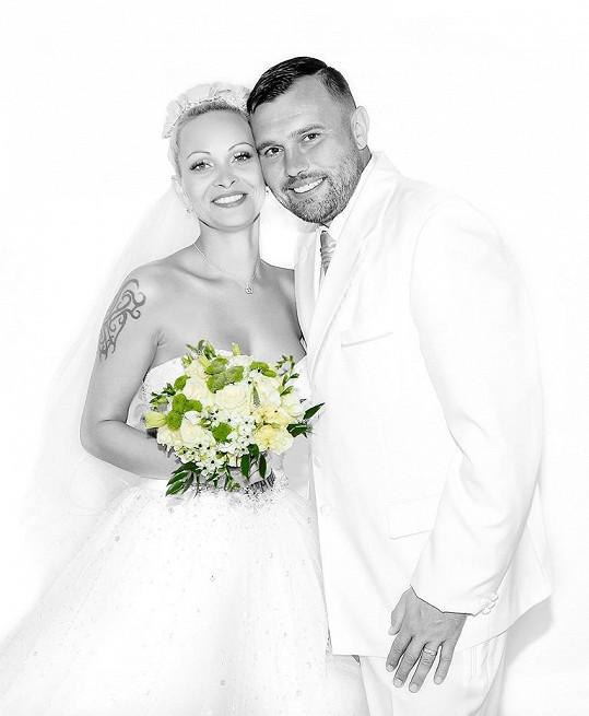 Milan Pešek s novomanželkou Jaroslavou