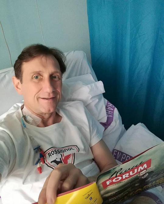 Jan Antonín Duchoslav má rok a půl po operaci srdce.