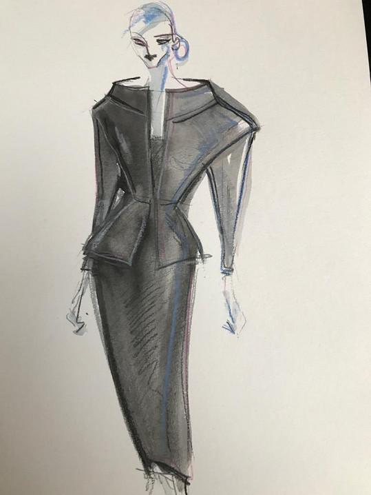 Hanečka navrhuje pro Zuzanu Čaputovou garderobu, ve které se předvede u příležitosti návštěvy papeže na Slovensku.
