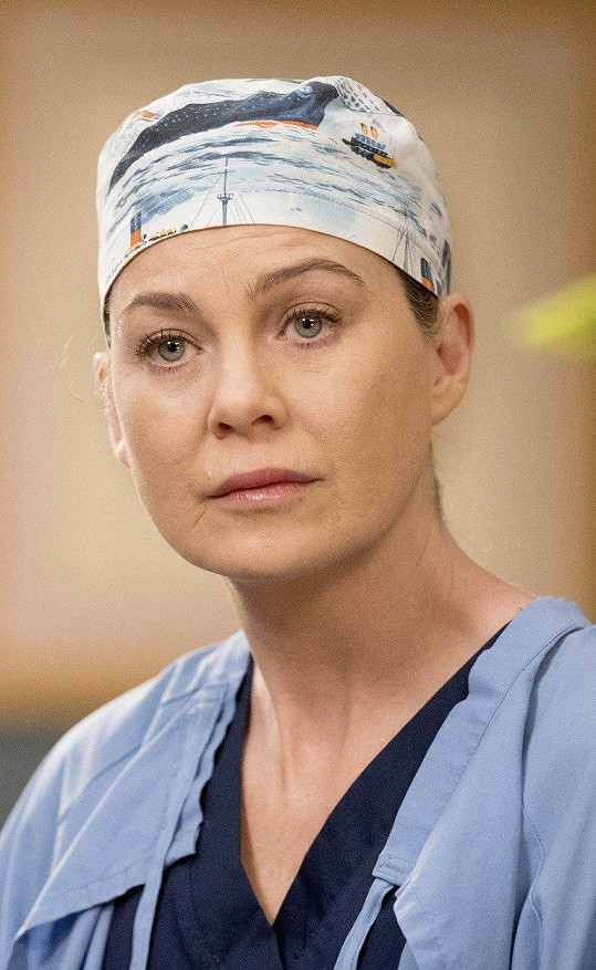 Ellen v oblíbeném seriálu Chirurgové.