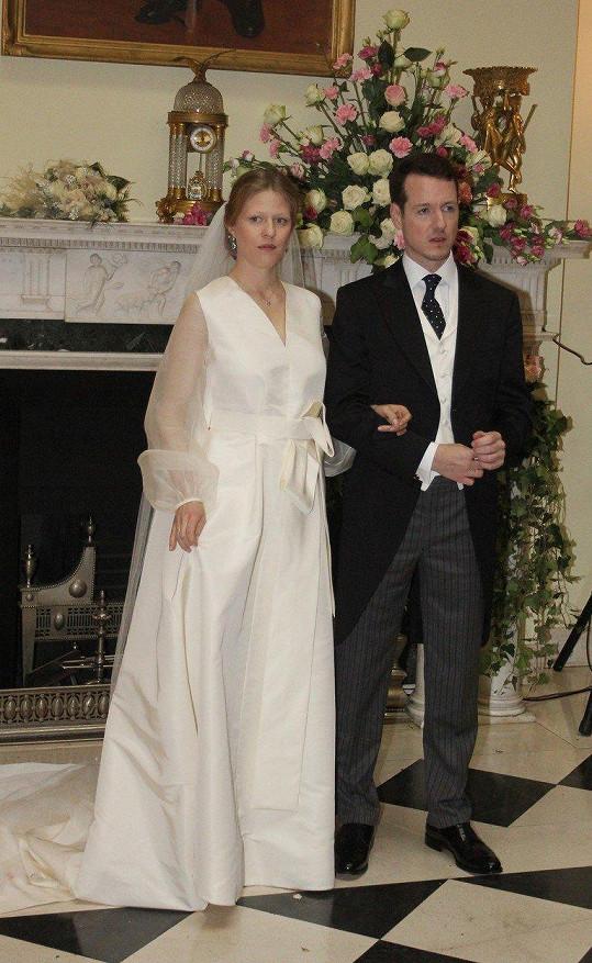 Filip a Danica už jsou manželé,