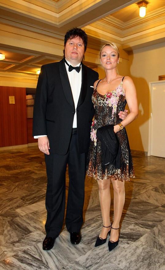 Dominika s Timem v roce 2009
