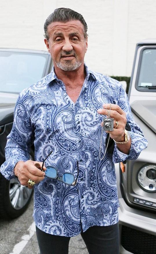 Sylvester Stallone brzy oslaví 75. narozeniny a stále je velmi disciplinovaný.