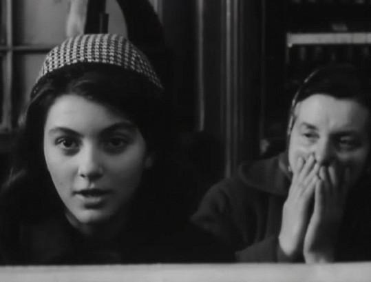 Jitka jako Zdenička Svatá v oscarovém filmu Ostře sledované vlaky