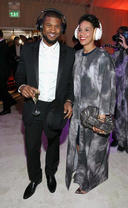 Usher a Grace Miguel se rozešli po dvou letech manželství.