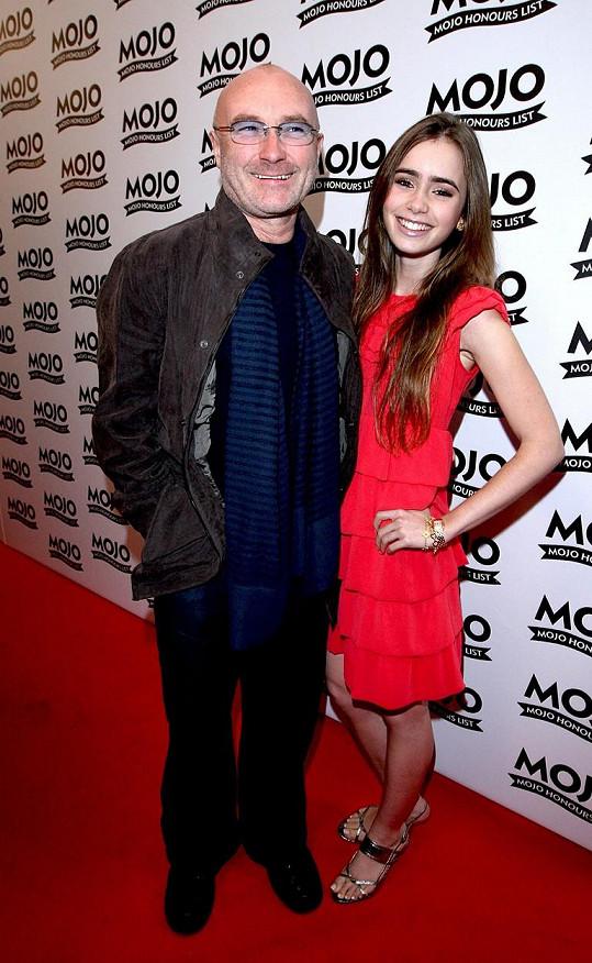 Phil Collins s dcerou Lily