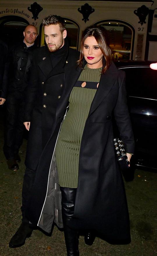 Nastávající rodiče Cheryl Cole a Liam Payne