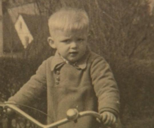 Václav Hybš jako malý kluk