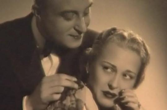 S Oldřichem Novým hrála Zita hlavně na divadle.