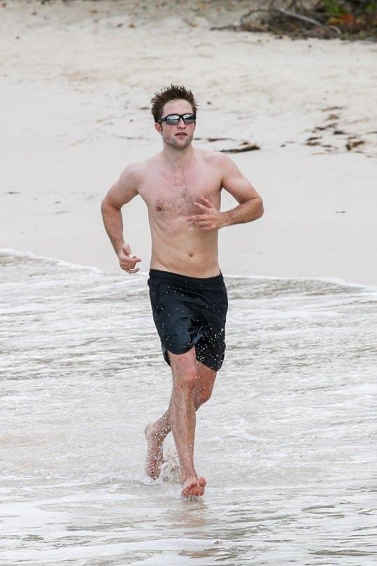 Robert vyrazil na Bahamy.