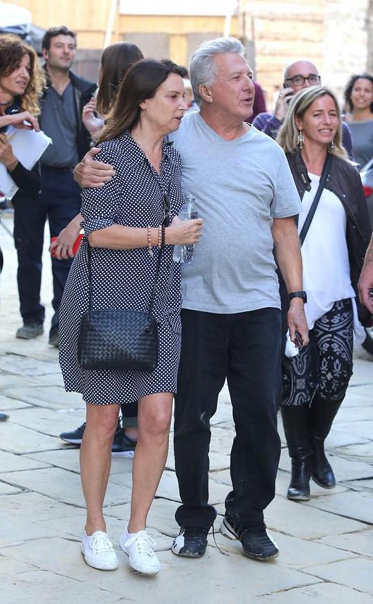 Loni v říjnu zavítal s manželkou do Itálie.