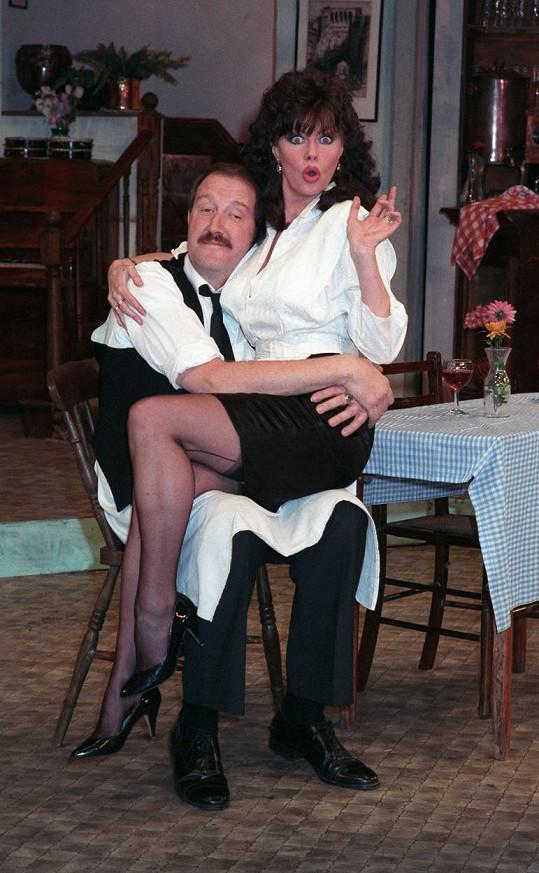 Gorden Kaye a Vicki Michelle