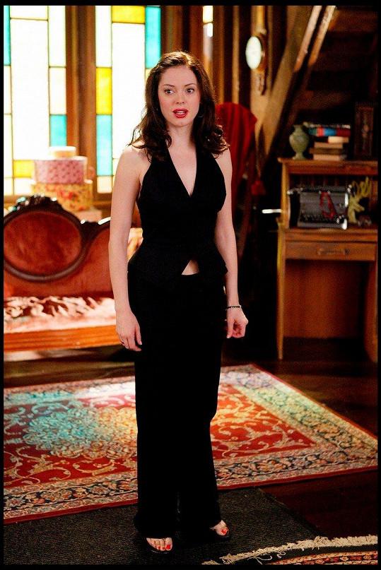 Rose McGowan v seriálu Čarodějky