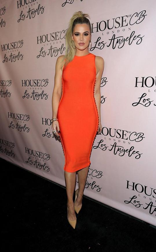 Khloé Kardashian shodila skoro dvacet kilogramů. Podle některých je teď zase příliš hubená.