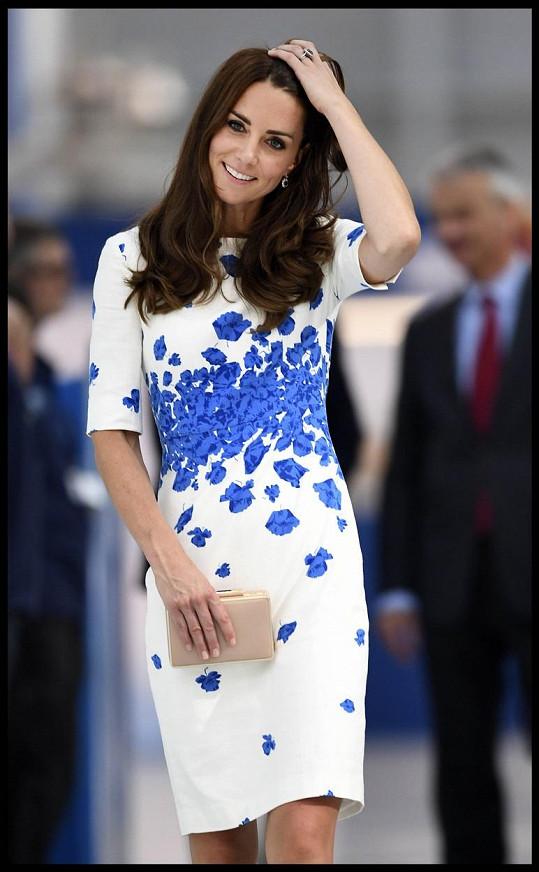 Vévodkyně měla dříve mnohem tmavší vlasy.