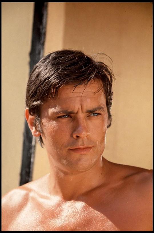 Tohle opravdu není Anthony, ale Alain ve filmu Bazén (1969)